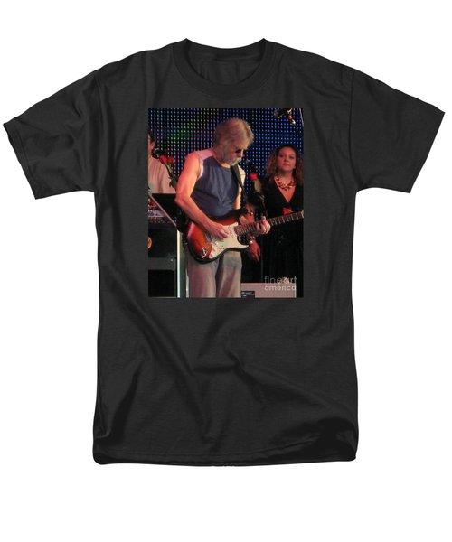 Men's T-Shirt  (Regular Fit) featuring the photograph Furthur - Bob Weir -grateful Dead Celebrities by Susan Carella