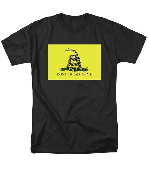 Gadsden Dont Tread On Me Flag Authentic Version Men's T-Shirt  (Regular Fit)