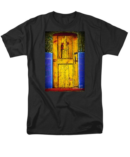Garden Door Men's T-Shirt  (Regular Fit) by Kirt Tisdale
