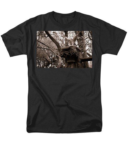 Garden Gargoyle  Men's T-Shirt  (Regular Fit) by Toni Hopper
