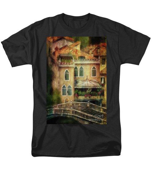 Gardening Venice Style Men's T-Shirt  (Regular Fit) by Lois Bryan
