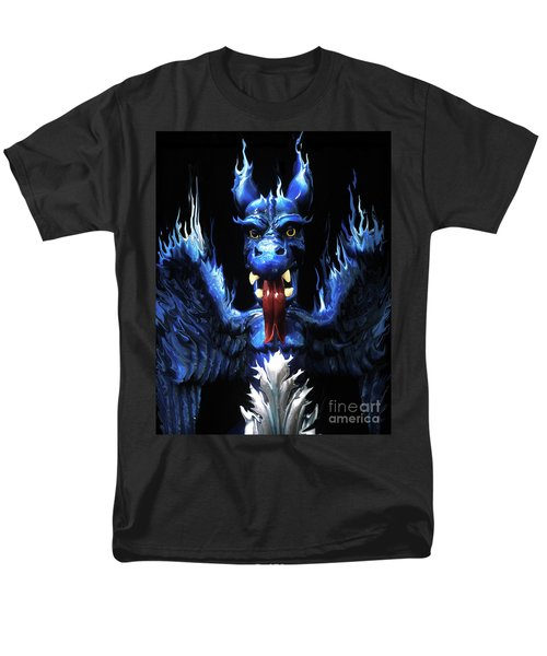 Men's T-Shirt  (Regular Fit) featuring the photograph Gargoyle by Jim and Emily Bush