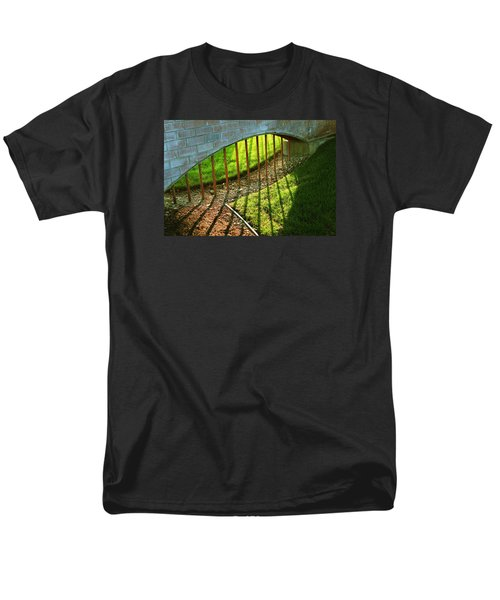 Men's T-Shirt  (Regular Fit) featuring the photograph Gate-redemption by Joseph Hawkins