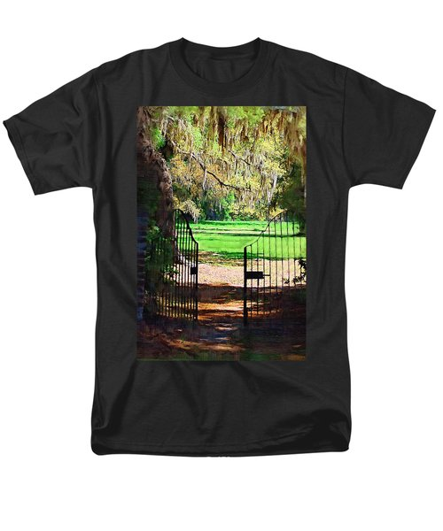 Gate To Heaven Men's T-Shirt  (Regular Fit) by Donna Bentley