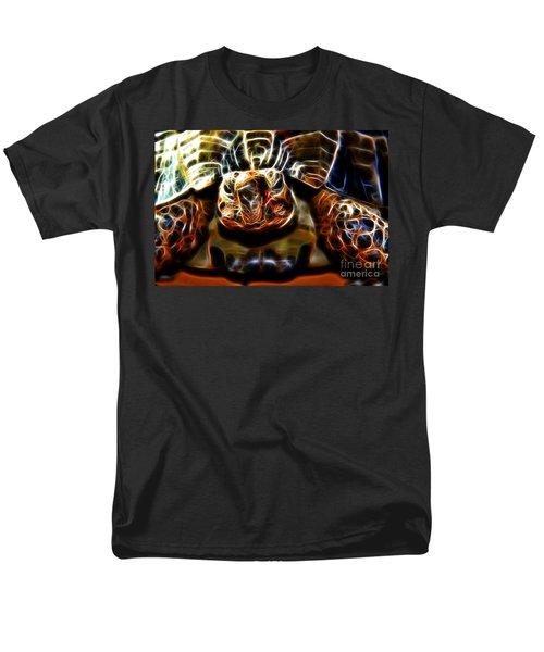 Gazing Turtle Men's T-Shirt  (Regular Fit) by Mariola Bitner