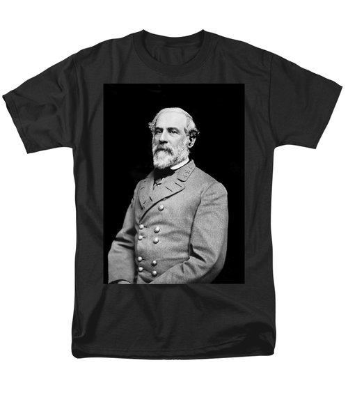 General Robert E Lee - Csa Men's T-Shirt  (Regular Fit) by Paul W Faust -  Impressions of Light
