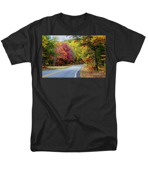 Georgia Scenic Byway Men's T-Shirt  (Regular Fit) by Barbara Bowen