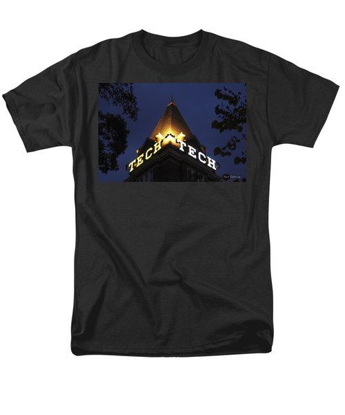 Georgia Tech Atlanta Georgia Art Men's T-Shirt  (Regular Fit) by Reid Callaway