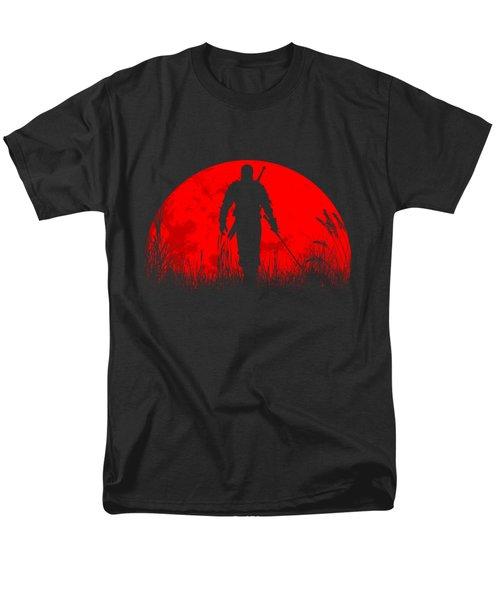 Geralt Of Rivia Men's T-Shirt  (Regular Fit) by Danilo Caro