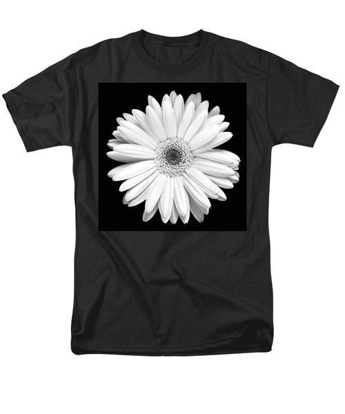 Single Gerbera Daisy Men's T-Shirt  (Regular Fit)