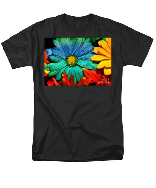 Gerbera Daisy Men's T-Shirt  (Regular Fit) by Tina LeCour