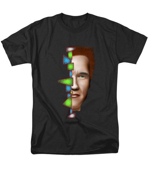 Gerschwanor V1 - Schwarzenegger Men's T-Shirt  (Regular Fit) by Cersatti