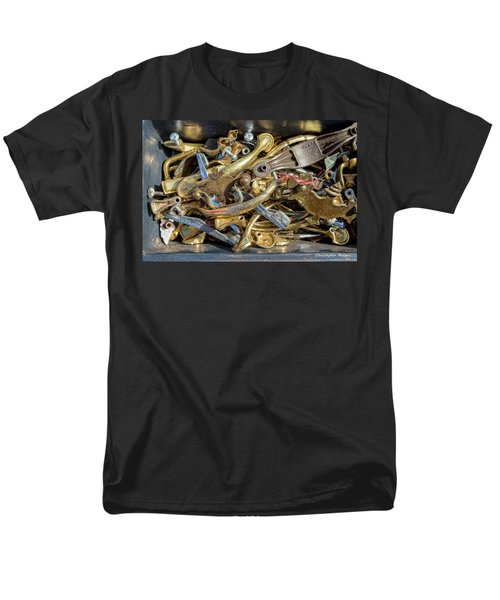 Men's T-Shirt  (Regular Fit) featuring the photograph Get A Handle On It by Christopher Holmes