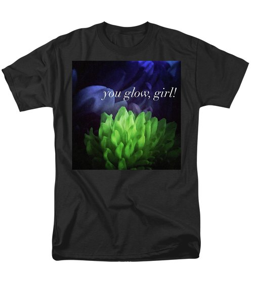You Glow Girl Men's T-Shirt  (Regular Fit) by Crystal Rayburn