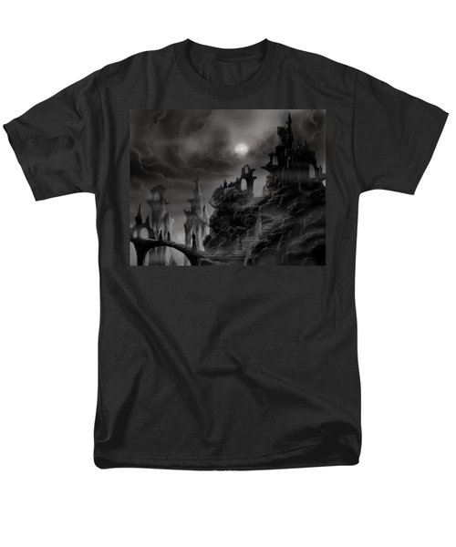 Ghost Castle Men's T-Shirt  (Regular Fit) by James Christopher Hill
