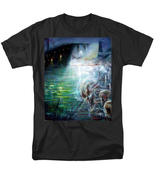 Ghost Ship 2 Men's T-Shirt  (Regular Fit) by Heather Calderon