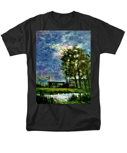 Ghost Town.. Men's T-Shirt  (Regular Fit) by Cristina Mihailescu