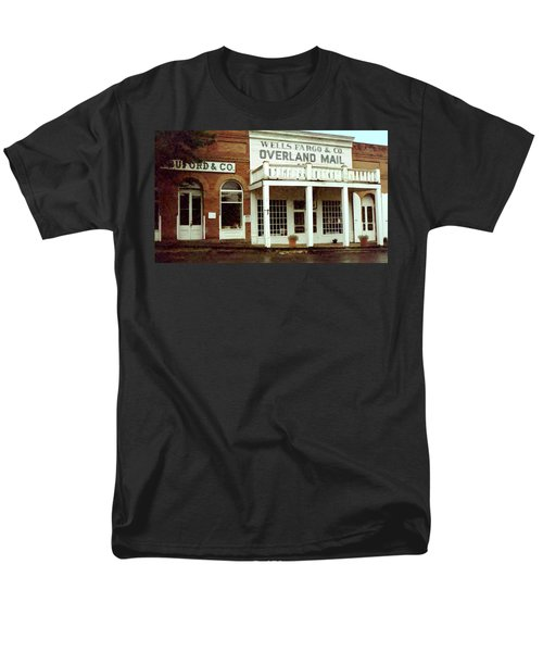 Men's T-Shirt  (Regular Fit) featuring the digital art Ghost Town by Gary Baird