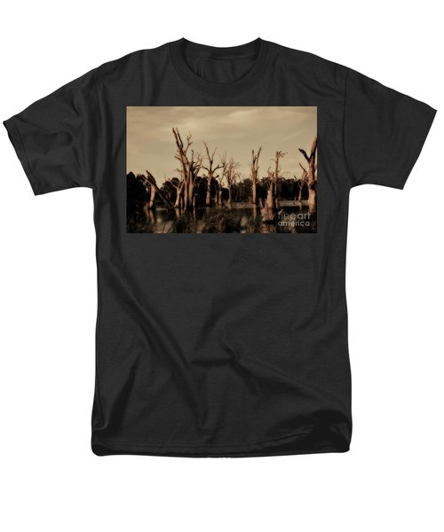 Men's T-Shirt  (Regular Fit) featuring the photograph Ghostly Trees V2 by Douglas Barnard