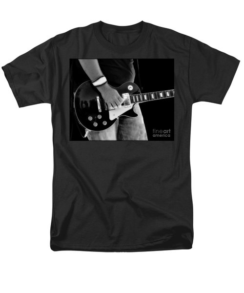 Gibson Les Paul Guitar  Men's T-Shirt  (Regular Fit) by Randy Steele