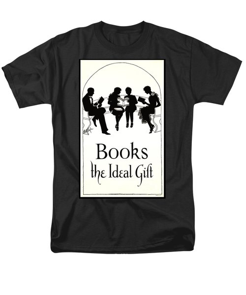 Men's T-Shirt  (Regular Fit) featuring the photograph Gift Books 1920 by Padre Art