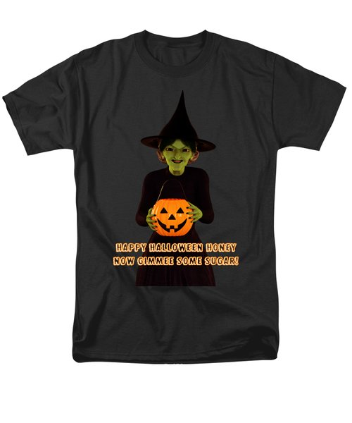 Gimmee Some Sugar Witch Men's T-Shirt  (Regular Fit) by Methune Hively