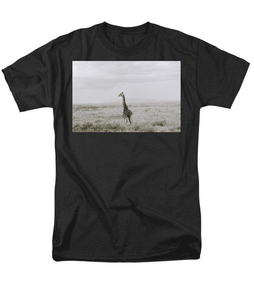 Giraffe Men's T-Shirt  (Regular Fit) by Shaun Higson