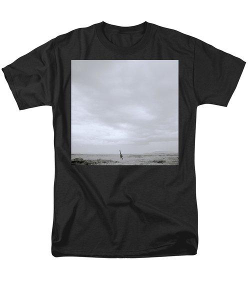Giraffe Under Big Sky Men's T-Shirt  (Regular Fit) by Shaun Higson