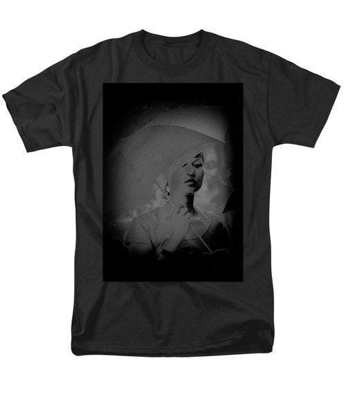 Girl With Umbrella Men's T-Shirt  (Regular Fit) by Patrick Kain
