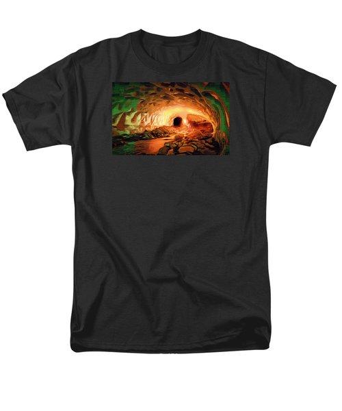 Glacier Caves Men's T-Shirt  (Regular Fit) by Mario Carini