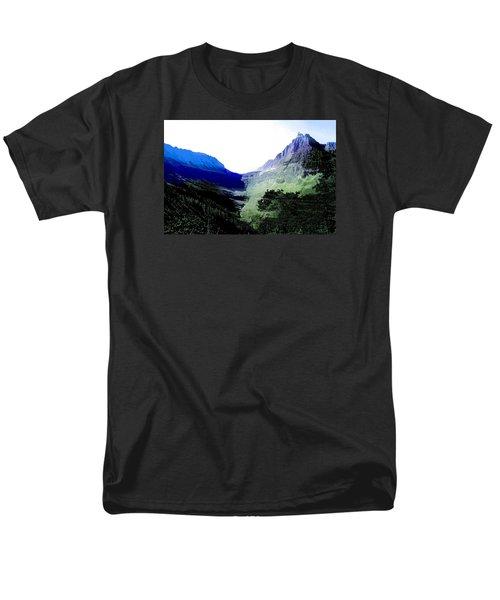 Men's T-Shirt  (Regular Fit) featuring the photograph Glacier Park Simplified by Susan Crossman Buscho