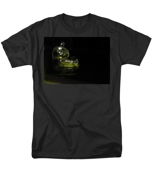 Men's T-Shirt  (Regular Fit) featuring the photograph Glass Shard by Susan Capuano