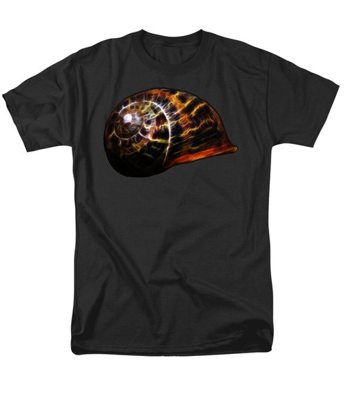 Men's T-Shirt  (Regular Fit) featuring the photograph Glowing Shell by Shane Bechler