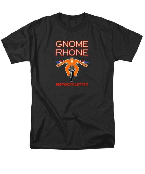 Gnome Rhone Motorcycles Men's T-Shirt  (Regular Fit) by Mark Rogan