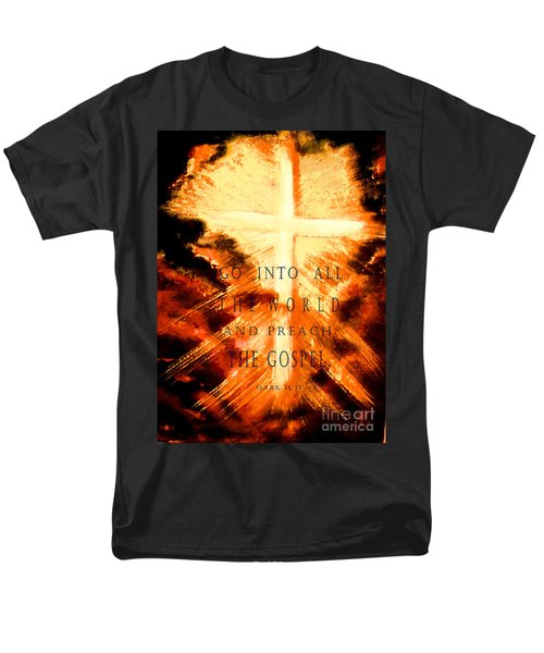 Go Into All The World Men's T-Shirt  (Regular Fit) by Hazel Holland
