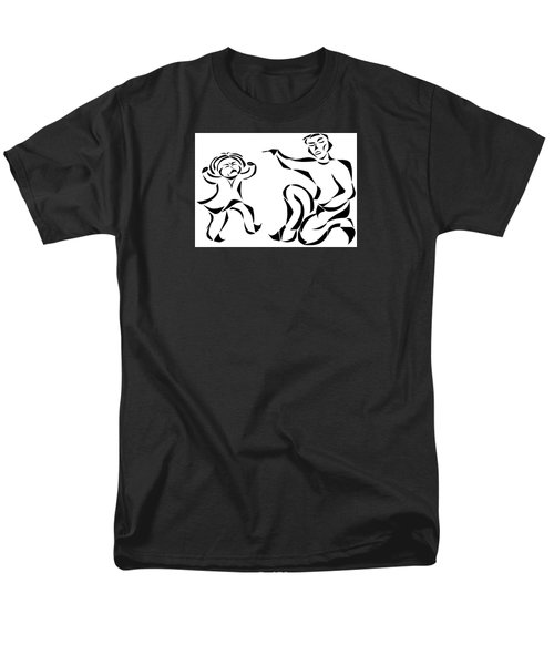 Men's T-Shirt  (Regular Fit) featuring the mixed media Go To Bed by Delin Colon
