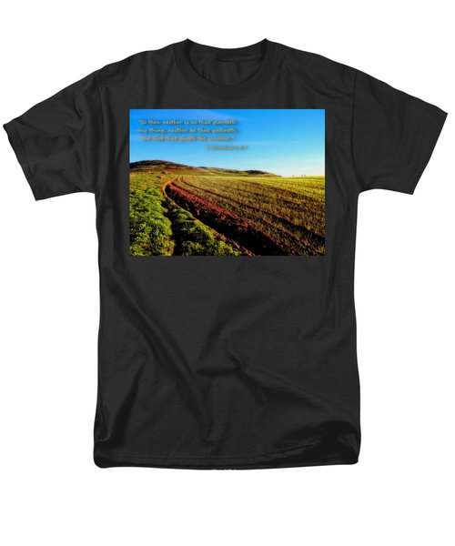 Men's T-Shirt  (Regular Fit) featuring the photograph God Gives The Increase by Glenn McCarthy