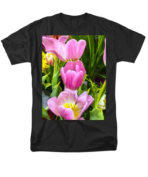 God's Tulips Men's T-Shirt  (Regular Fit) by Carlos Avila