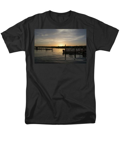 Goin Fishin Men's T-Shirt  (Regular Fit) by John Black