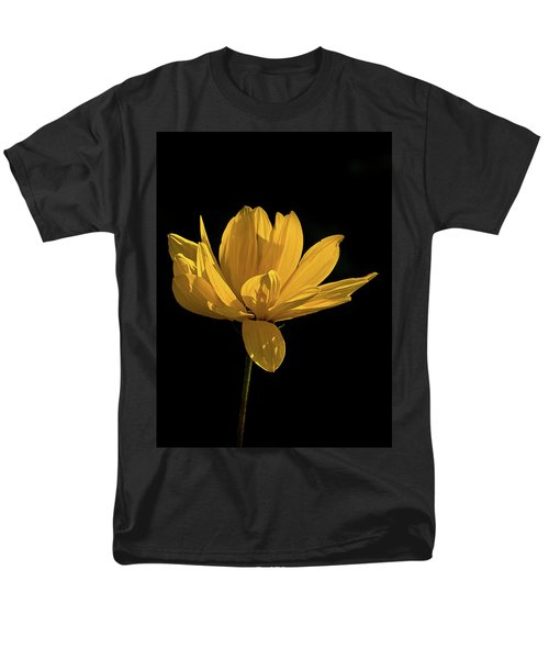 Golden Coreopsis Men's T-Shirt  (Regular Fit) by Jacqi Elmslie