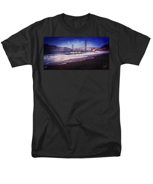 Golden Gate Men's T-Shirt  (Regular Fit) by Everet Regal