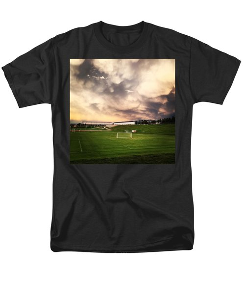 Golden Goal Men's T-Shirt  (Regular Fit) by Christin Brodie