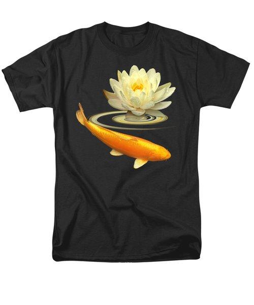 Golden Harmony Square Men's T-Shirt  (Regular Fit)