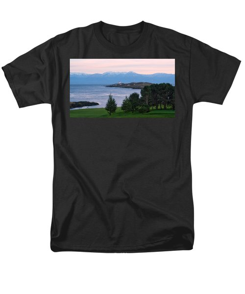 Trial Island Sunset Men's T-Shirt  (Regular Fit) by Keith Boone