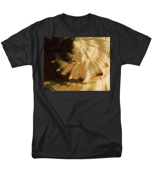 Men's T-Shirt  (Regular Fit) featuring the photograph Golden Mean I by Carolina Liechtenstein