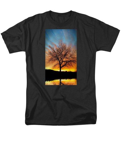 Golden Reflection Men's T-Shirt  (Regular Fit) by Dan Stone