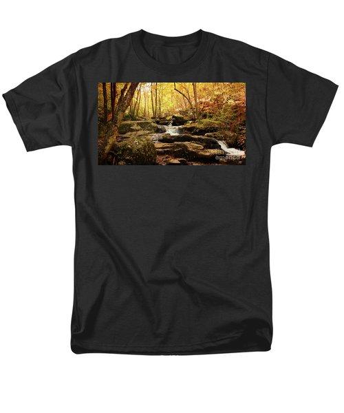 Golden Serenity Men's T-Shirt  (Regular Fit) by Rebecca Davis
