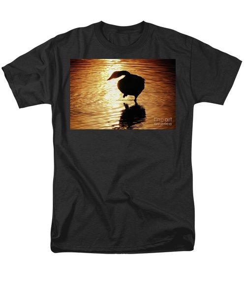 Golden Swan Men's T-Shirt  (Regular Fit) by Tatsuya Atarashi