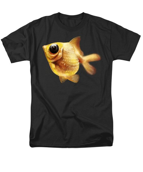 Goldfish Men's T-Shirt  (Regular Fit) by Abdul Jamil