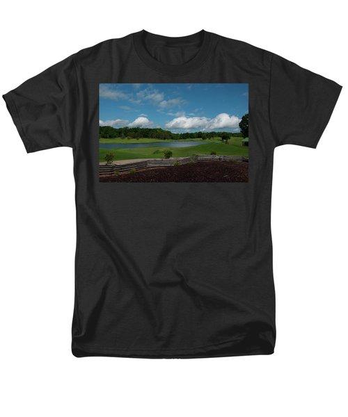 Golf Course The Back 9 Men's T-Shirt  (Regular Fit) by Chris Flees